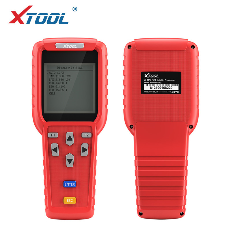 XTOOL X100 PRO Car Key Programmer OBD2 Auto Diagnostic Tool Scanner With Odometer Adjustment Code Reader Update Version Original