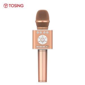 Image 1 - TOSING Q12 2020 חדש נייד קריוקי מיקרופון אלחוטי Bluetooth רמקול כף יד מוסיקה נגן KTV נסיעות SupportUSB כרטיס לשחק