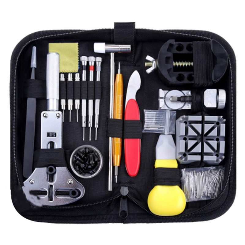 Watch Repair Kit   151Pcs Watch Repair Kit Watch Repair Tool Professional Spring Rod Tool Set Watch Removal Tool Set