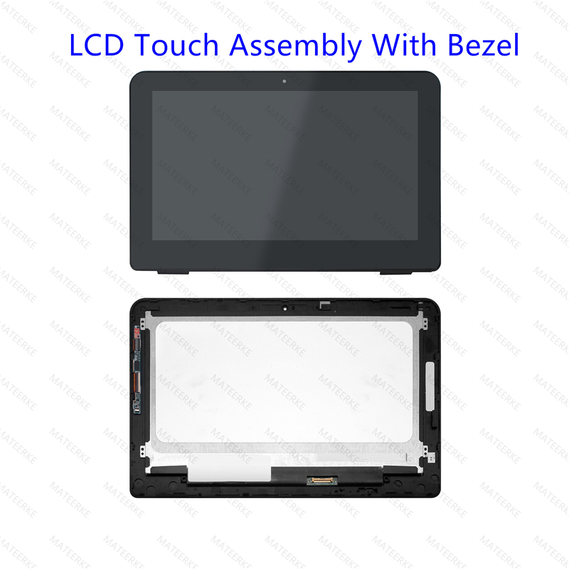 """11.6"""" Touch Screen Digitizer Front Glass Lens Replacement +Bezel for HP x360 310 G2"""