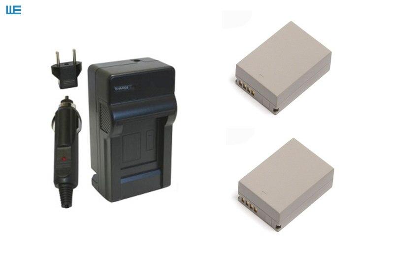 NB-7L, NB7L аккумулятор+ зарядное устройство для цифровой камеры Canon PowerShot G10 G11 G12 SX30 IS - Цвет: Черный