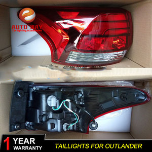 Image 2 - Car Styling Tail Lamp case for Mitsubishi Outlander taillights 2015 2018 Tail Lights LED Rear Lamp LED tail lights