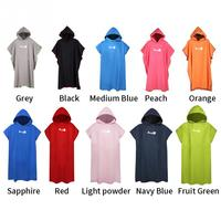 Adult Diving Suit Change Robes Poncho Hood Quick-drying Hooded Towel Quick-drying Absorbent Sweat-absorbent Swim Robe