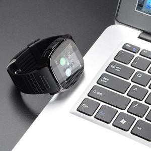 Image 5 - T8 kamera ile Bluetooth akıllı izle Facebook Whatsapp destek SIM TF kart çağrı spor Smartwatch Android telefon için IOS Samsung