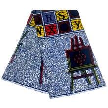 Африканские Ткани Воск Печать Высокое качество pagne настоящий