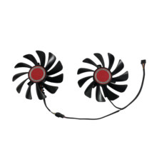 HIS RX 580 XFX RX580 590 GPU VGA Alternative Cooler Cooling Fan For HIS XFX RX 580 Graphics Video Cards As Replacement