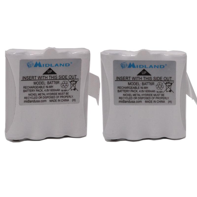 AVP8 BATT6R Ni-MH Battery For LXT Series Midland Radios LXT-325 M24 M48 M99 Plus CXT240 CXT250 CXT280 GTX650 GTX661 XT27 XT29