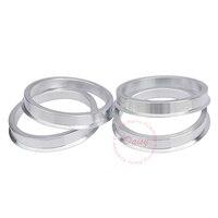 (4 teile/satz) hub Centric Ringe OD = 73 1mm ID = 54 1/58 1/57 1/60 1/67 1/66 1 /64 1/65 1/63 4/66 6 Legierung Räder Zapfen Ringe