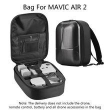 Hardshell Backpack Waterproof Storage Bag Travel Carrying Case Protective Box for D-JI Mavic Air 2 Drone storage case portable travel carrying bag waterproof box for d ji mavic air 2
