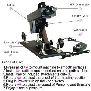 Image 4 - Fredorch atualize máquinas de sexo acessíveis para mulher máquina de amor de masturbação automática com vibrador grande vibração brinquedos sexuais