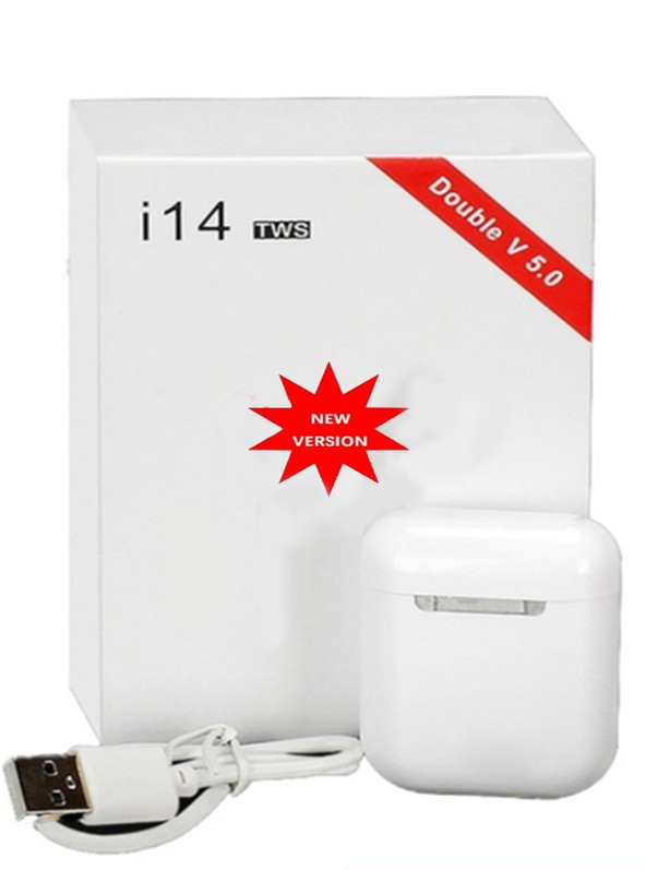 2020 New I14 TWS Wireless Earphones Bluetooth Headset Invisible Earbuds For Smart Phone PK I7 I12 I13 I14 I500 I1000