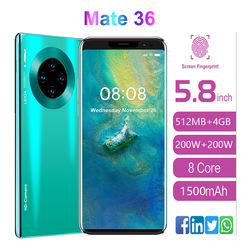 SOYES mate36 Pro Mobile Phone Android 5.8 inch 512MB RAM 4GB ROM Smartphone 1500mAh Mobile Phone