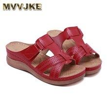 MVVJKE Women Premium Orthopedic Open Toe Sandals Vintage Anti slip Breathable for Summer