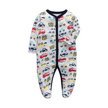 Одежда для новорожденных комбинезон пижама с длинными рукавами