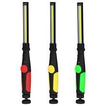Новый USB перезаряжаемый портативный светильник COB флэш-светильник крючок подвесной светильник перезаряжаемый COB светодиодный тонкий