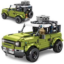 City High-Tech Off-Road Vehicle Defender Model Assemblage Building Blocks Creativity MOC SUV Brick Toys For Boys Birthday Gifts