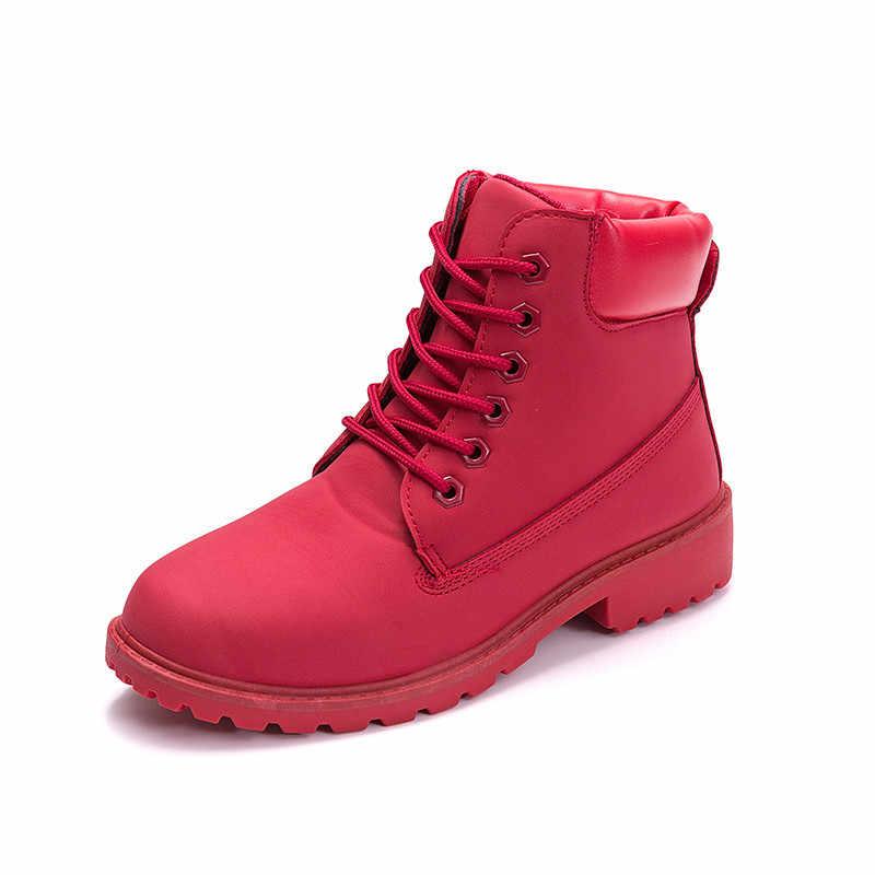 ASUMER 2020 sıcak yeni kadın çizmeler sıcak kış ayakkabı moda marka rahat ayakkabılar rahat yarım çizmeler kadın düz çift ayakkabı