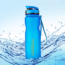 Sports-Bottle Fitness Bicycle Plastic 1L Outdoor Frosted-Space-Cup Riding-Cup Large-Capacity