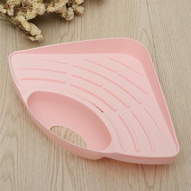 OUNONA porte-brosse de cuisine évier | Étagère de vidange, caddie éponge porte-éponge griffoir nettoyage brosse support dévier organisateur