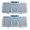 2 Hepa пылесборника для фильтра пылесоса запчасти подходят для пылесоса LG ADQ56691101/VC9083CL/Vc9062/Vc9095R Va