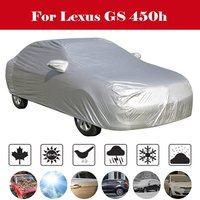 Araba kılıfı MPV açık Anti-UV güneş gölge yağmur kar çizilmeye karşı koruma rüzgar geçirmez kapak için Lexus GS 450h