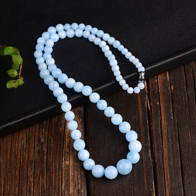 Aquamarine Necklace Chains (7)