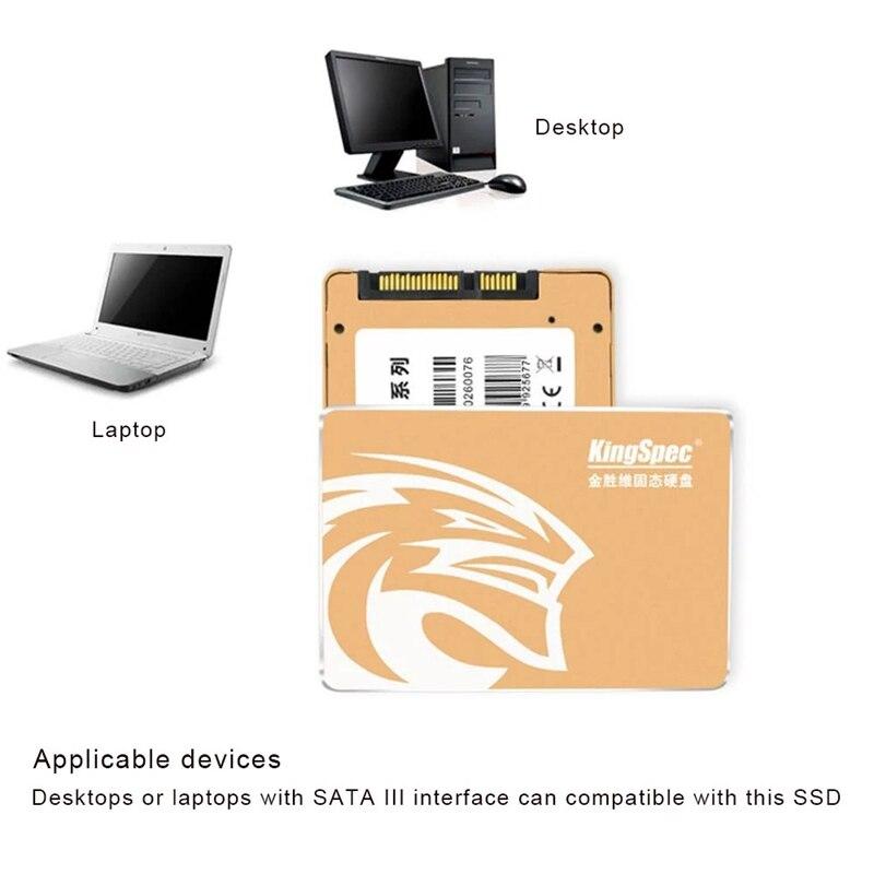 KingSpec P3-256 SATA III 3,0 2,5 дюймов 3D MLC цифровой SSD твердотельный накопитель для компьютера ПК ноутбука настольного компьютера