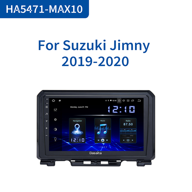"Dasaita DSP 9"" IPS Touch Screen Android 10.0 Car Radio for Suzuki Jimny 2019 GPS Navigator HDMI Car Stereo Multimedia System"