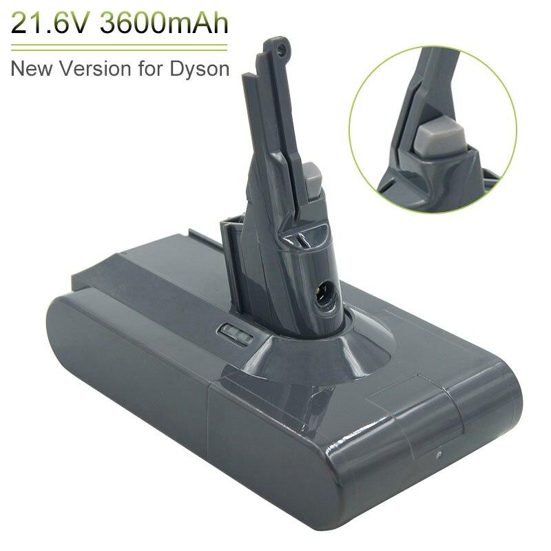 21.6V 3600mAh Li-ion Rechargeable Battery For Dyson V8 Absolute Dyson V8 Animal Dyson V8 Fluffy V8 SV10 Vacuum Cleaner Batteries