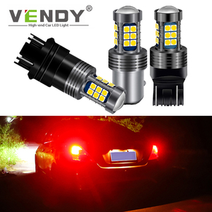 1х автомобильная светодиодная лампа тормозной лампы для honda civic fit crv accord 8 jazz Insight Odyssey Pilot P21/5W W21/5W W21W P21W BA15D ba15s
