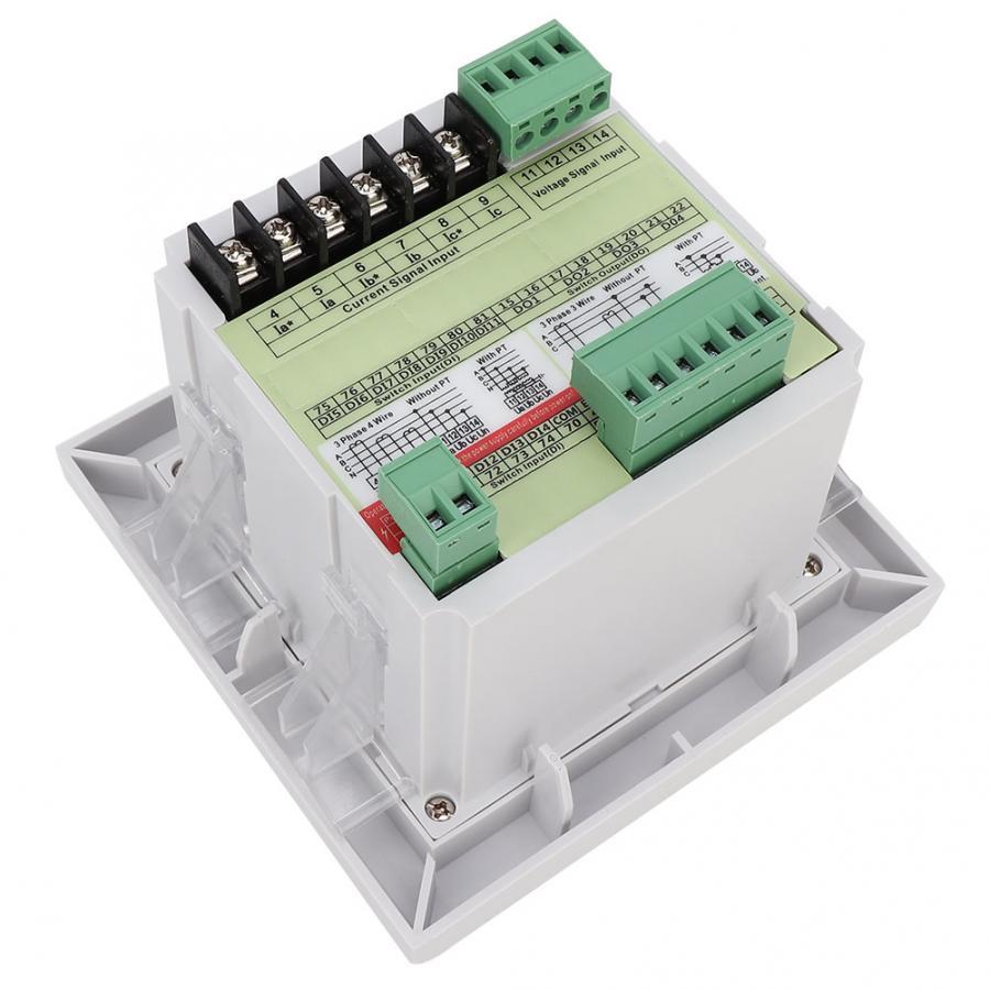 Original profissional lcd power meter 3-phase multi-função