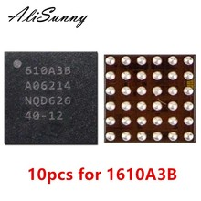 AliSunny 10pcs U2 Charging iC for iPhone 7 Plus 7P 7G Charger ic 1610A3B Chip U4001 36Pin on Board Ball 610A3B Repair Parts