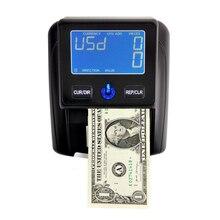 Aibecy портативный детектор банкнот, счетчик банкнот с использованием UV/MG/IR/DD тестовый детектор поддельный детектор валют