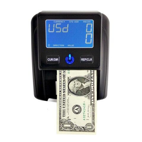 contador portatil do dinheiro da cedula do detector de dinheiro da cedula de aibecy usando