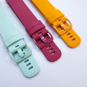 UEBN спортивный силиконовый ремешок для Samsung Galaxy Watch 3 41 мм браслет для galaxy watch 3 45 мм S3 Frontier Ремешки для наручных часов