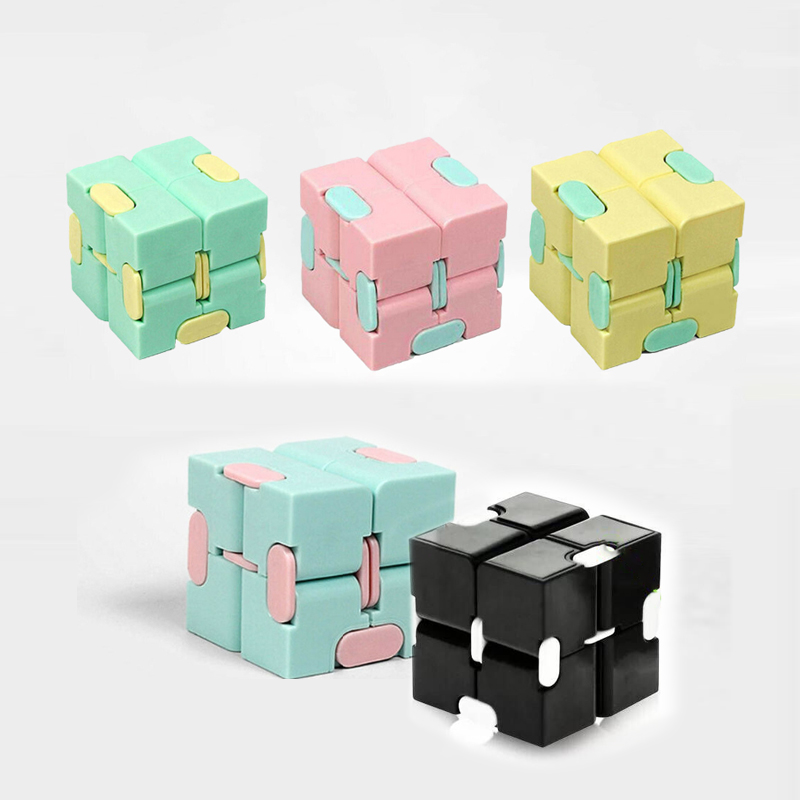 Magic-Cube Puzzle-Toys Fidget Toy Hand-Game Square Decompression Relieve-Stress Funny