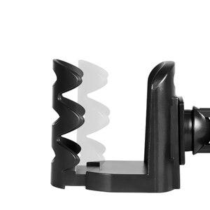 Image 5 - Auto Air Vent Outlet Tasse Halter Innen Zubehör Untersetzer Getränke Tasse Trinken Wasser Flasche Clip auf Halter Stehen