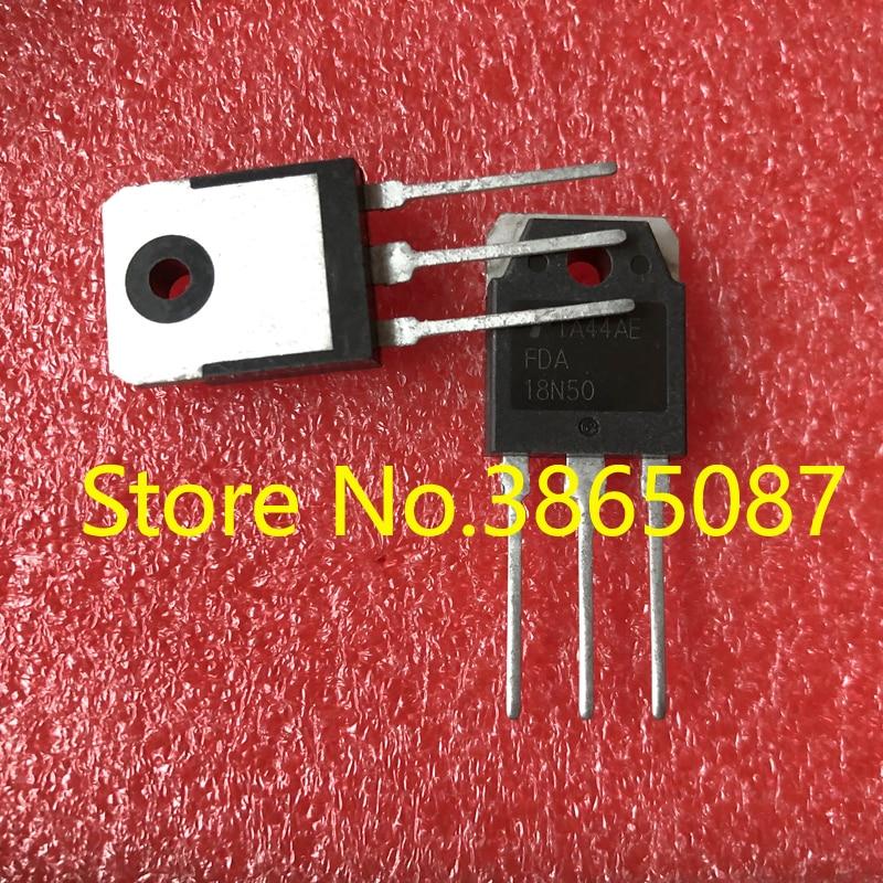Транзистор MOSFET, FDA18N50 или FQA18N50, или AV218N50, AV2 18N50, транзистор, мощность 20 шт./лот