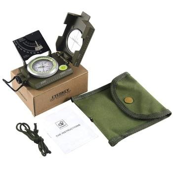Eyeskey Mulitifunctional Outdoor Survival Military Compass Camping Waterproof Geological Compass Digital Navigation Equipment 6