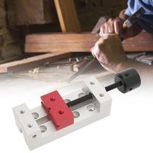Drill-Press Bench-Vise Mini Table Vice-Fixing-Tool Flat-Clamp 50mm Aluminum