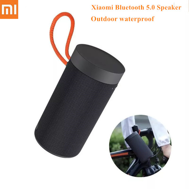 Original Xiaomi Outdoor Bluetooth 5.0 Speaker Portable Wireless Bass Stereo Music Surround Waterproof Radio Outdoor Speaker