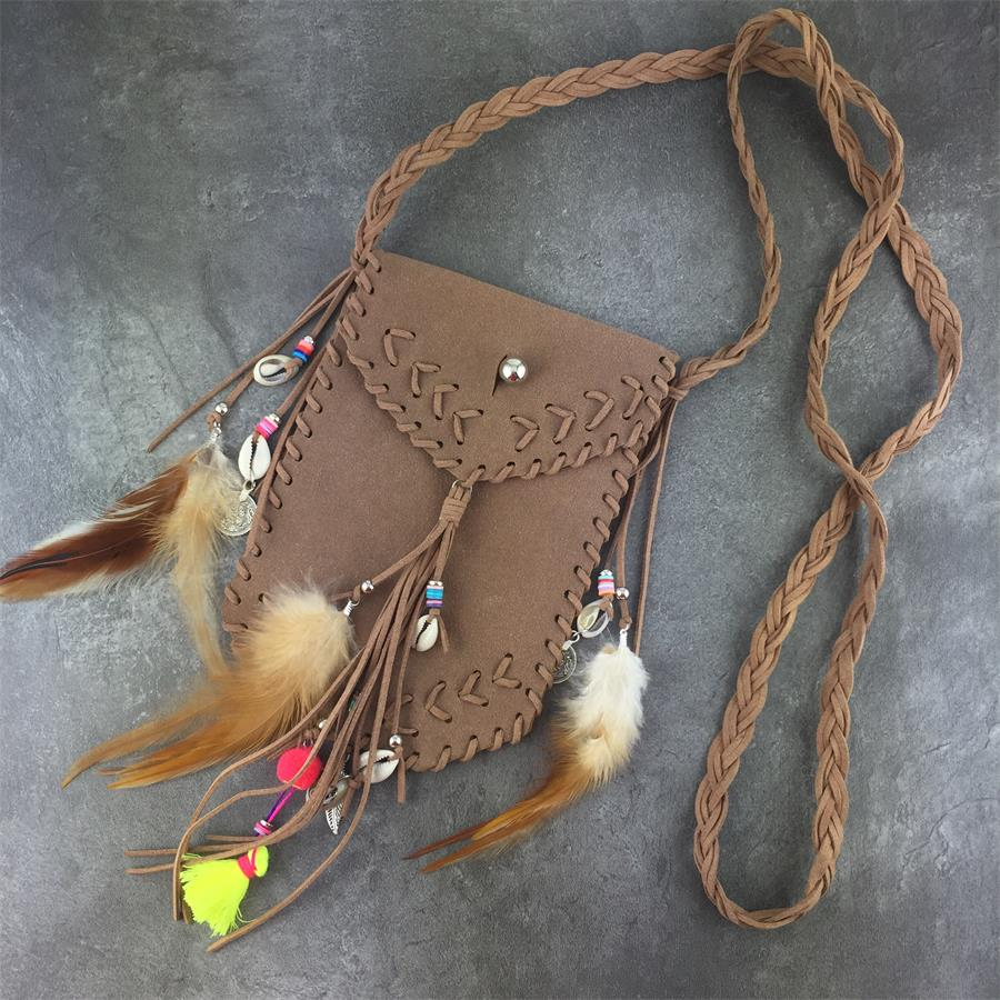 Hb2c640414b8c435cb4794ed299d70d4cv - Vintage Bohemian Skull Fringe phonBags Chain Women Shoulder Messenger Crossbody Bag Boho Hippie Gypsy Women's Handbags free Gift