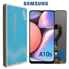 "6.2 ""orijinal Samsung galaxy A10s lcd sayısallaştırıcı A107/DS A107F A107FD A107M ekran dokunmatik ekranlı sayısallaştırıcı grup"