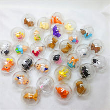 28 мм диаметр капсулы игрушка с милой фигурой игрушки прозрачный
