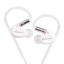 Ak kinera sif dinâmico unidade em fones de ouvido earbud alta fidelidade dj monitor fone de ouvido correndo esporte earplug headplug com mmcx