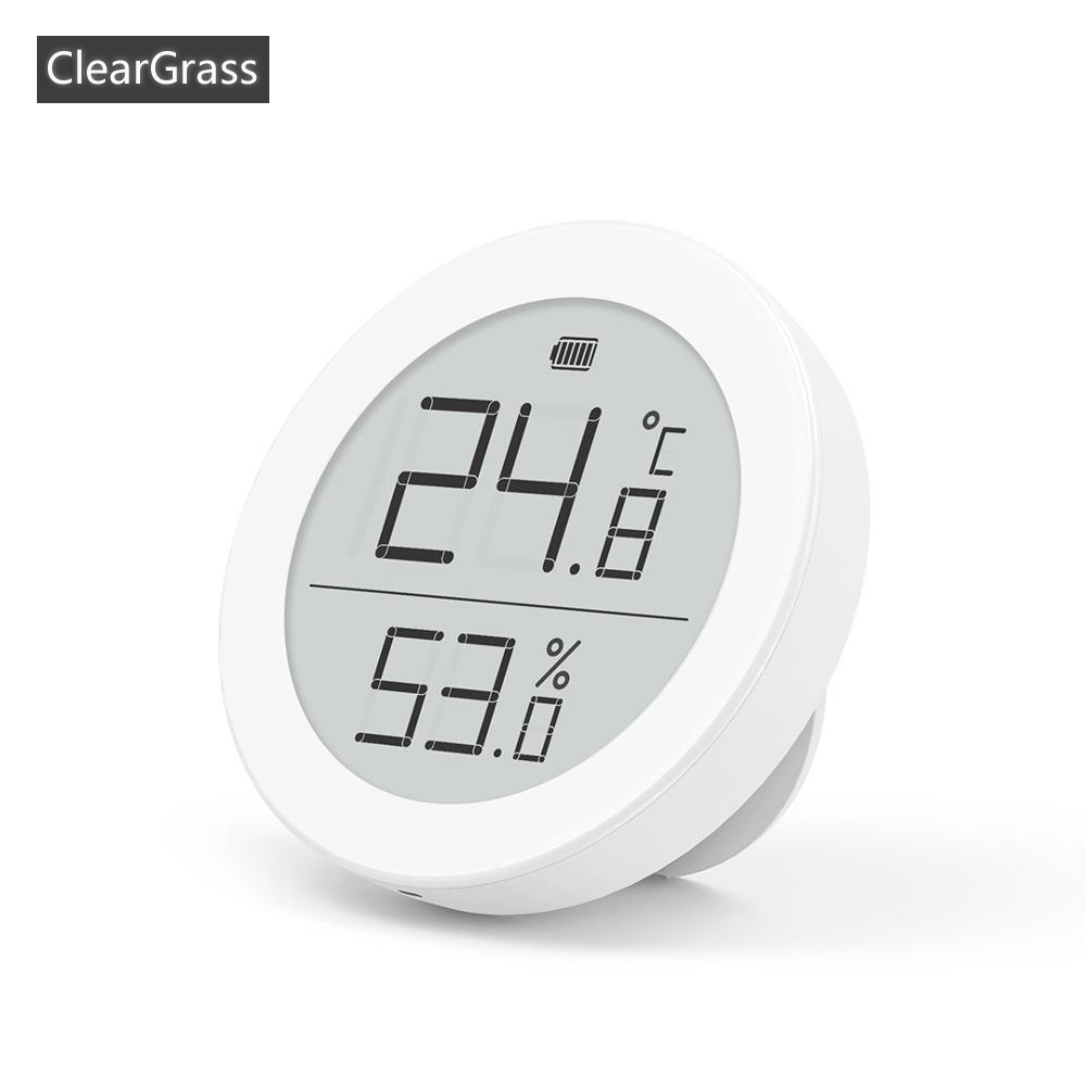 Youpin Cleargrass Digital Moisture E-Link INK Screen Meter High-Precision Thermometer Temperature Humidity Sensor LCD Screen