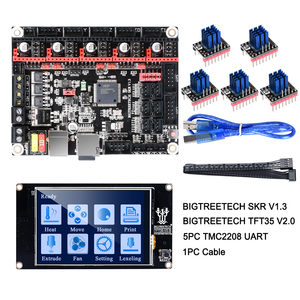 Image 2 - BIGTREETECH クローナ V1.3 制御ボード 32Bit Smoothieboard + TMC2209 V1.2 UART + TFT35 V2.0 3D プリンタ部品 vs tmc2208 tmc2130 MKS 世代