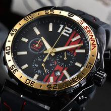 Hot Sale Top Casual Fashion Business Men Watch Brand Luxury Guy Unique Creative Popular Rubber strap Quartz Wristwatches Reloj