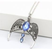 Модная бижутерия винтажное Очаровательное ожерелье с подвеской