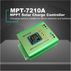 MPT-7210A Color LCD Display MPPT Solar Panel Charge Controller 24/36/48/60/72V Boost Solar Battery Controllers For Drop Shipper(China)
